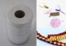 Wstążki filcowe 1cm x 6m kolor biały 13 sztuk