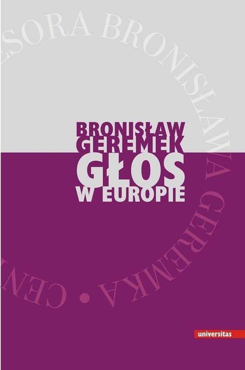 Głos w Europie Geremek Bronisław