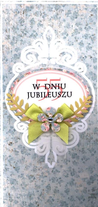 Karnet DL RR 55 Rocznica Slubu MIX .