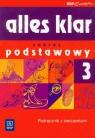 Alles klar 3 język niemiecki podręcznik z ćwiczeniami z płytą CD  Łuniewska Krystyna, Wąsik Zofia