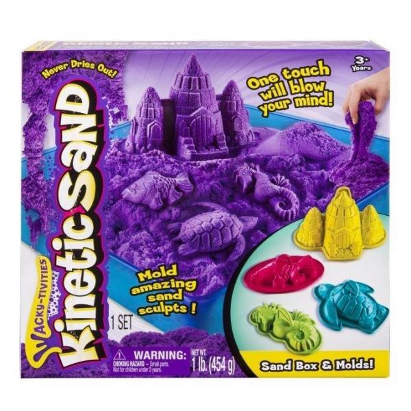 Kinetic Sand Podwodny świat 454g fiolet. (5909996)