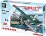 Klocki Blocki Samoloty 402 elementy Dwupłaowiec myśliwski (KB82002)