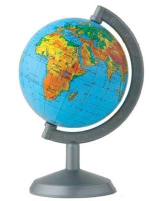 Globus fizyczny 70 mm