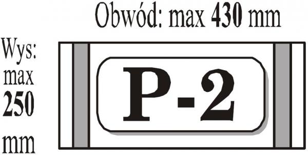 Okładki samoprzylepne  P2 B5(PACZKA) PACZKI NIE ROZRYWAC