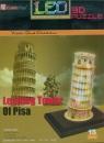 Puzzle 15: Led Krzywa wieża. 3D (L502H) L502h