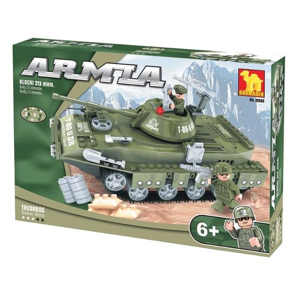 DROMADER Klocki Armia Czołg tropikalny (22502)