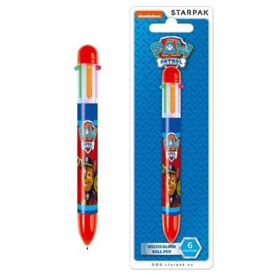 Długopis wielokolorowy Psi Patrol