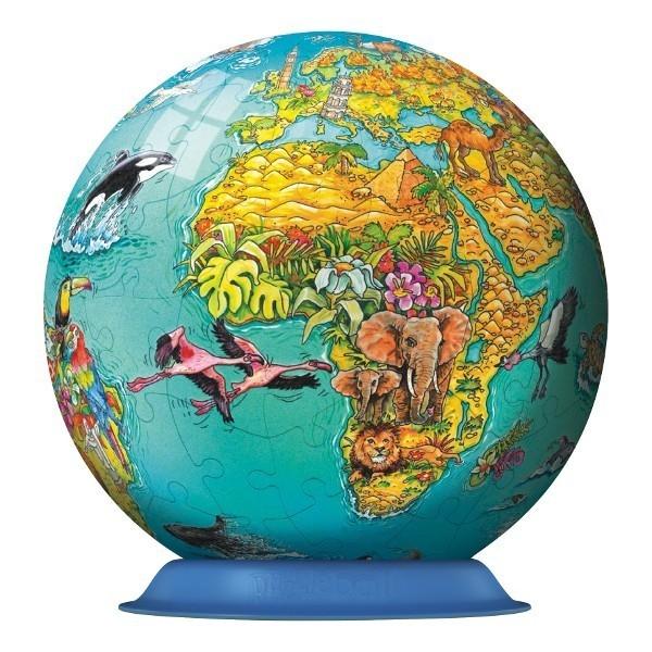 RAVEN. 108 EL. Kuliste Świat dla dzieci