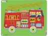 Puzzle Wóz strażacki 10