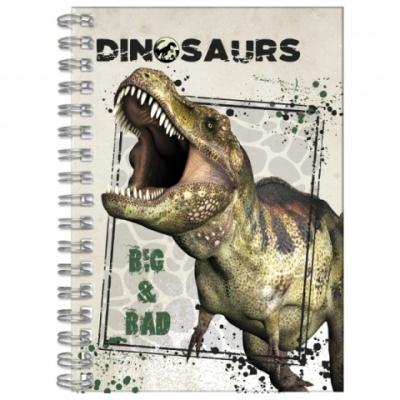 Notes spiralny A6 Dinozaur