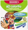 Pisaki Colorito 2,6 mm 60 kol. FIBRACOLOR