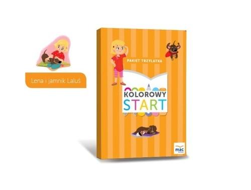 Kolorowy start Trzylatek Box Wiesława Żaba-Żabińska