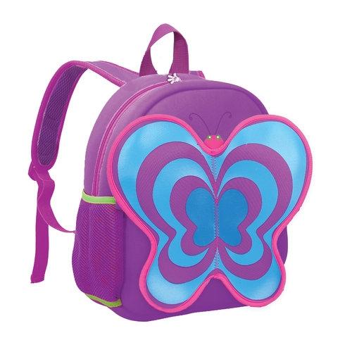 Plecak neoprenowy motyl fioletowy
