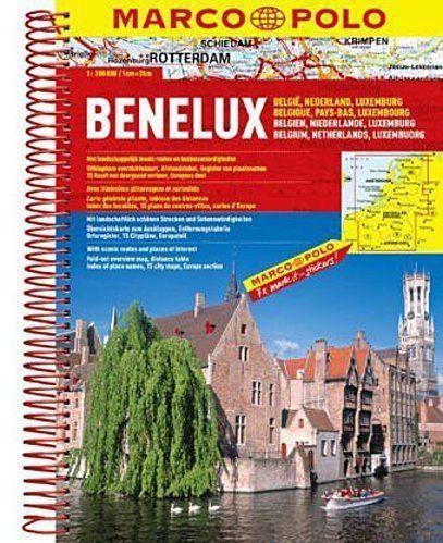 Benelux atlas drogowy 1:200 000 Opracowanie zbiorowe