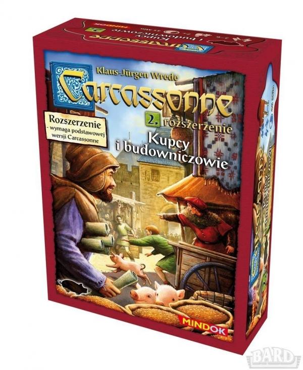 Carcassonne Rozszerzenie 2 Kupcy i budowniczowie (0129)