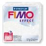 Masa termoutwardzalna Fimo effect biały brokotowy (8020-052)