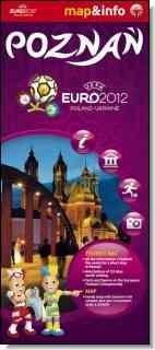 Poznań Euro 2012 mapa i miniprzewodnik Ratkowska Paulina, Rogalska Marta