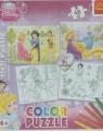 Puzzle 2x48 elementów Color Disney Księżniczki (36503)