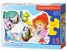 Puzzle konturowe Little Red Riding Hood 15 elementów (015030)