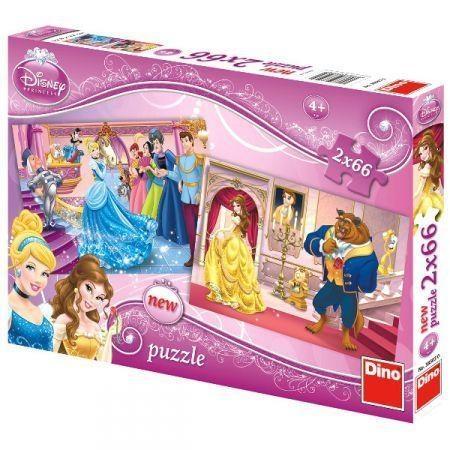 Puzzle Dino 2x66 Princess (385030)