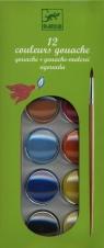 Farby klasyczne plakatowe 12 kolorów (DJ08803)