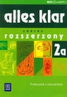 Alles klar 2A Podręcznik z ćwiczeniami + CD Liceum profilowane i Łuniewska Krystyna, Tworek Urszula, Wąsik Zofia
