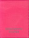 Okładka na dokumenty ucznia pionowa różowa
