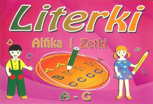 Literki Alfika i Zetki A - G
