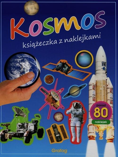 Kosmos Książeczka z naklejkami
