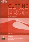 Cutting Edge New Elementary Workbook with key