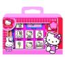 Pieczątki Hello Kitty w walizce