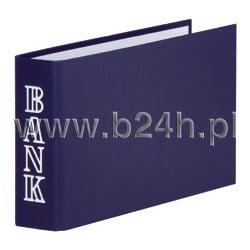 Segregator bankowy 1/3 A4 30mm niebieski 3706001F-10