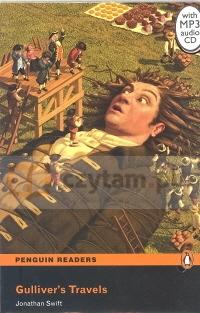 Pen. Gulivers Travels bk/MP3 CD (2) RL Jonathan Swift