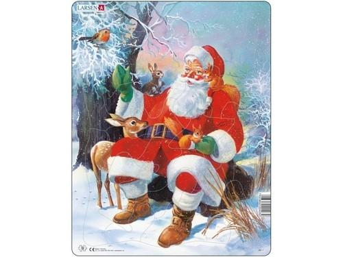 Święty Mikołaj ze zwierzętami