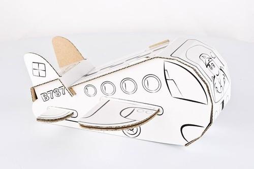 Samolot Kolorowanka 3D
