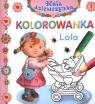 Lola Kolorowanka Mała dziewczynka 1
