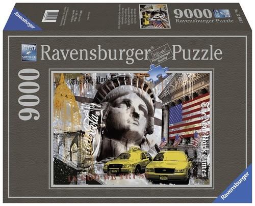 Puzzle New York Impresje 9000
