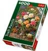 Puzzle 4000 Kwiaty dla Królowej Elżbiety (45003)