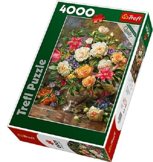 Puzzle 4000 Kwiaty dla Królowej Elżbiety (Uszkodzone opakowanie) (45003)