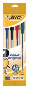 Długopis Cristal Original mix kolorów 4 sztuki