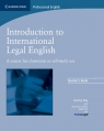Introduction to International Legal English Teacher's Book Day Jeremy