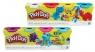 Play-Doh Ciastolina tuba 4-pak mix kolorów (B5517)