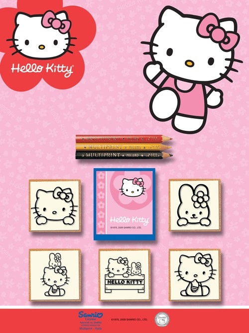 Pieczątki Hello Kitty