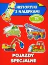 Pojazdy specjalne Historyjki z nalepkami Wiśniewska Anna