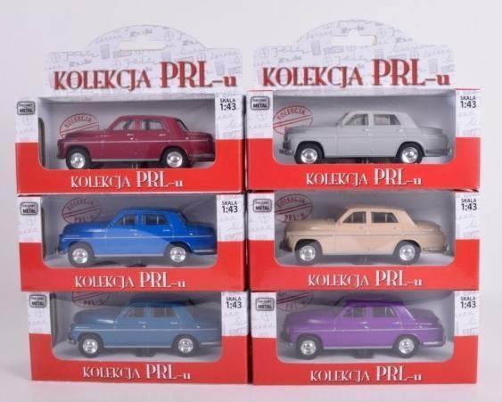 Kolekcja PRL-u Warszawa 223, 6 kolorów