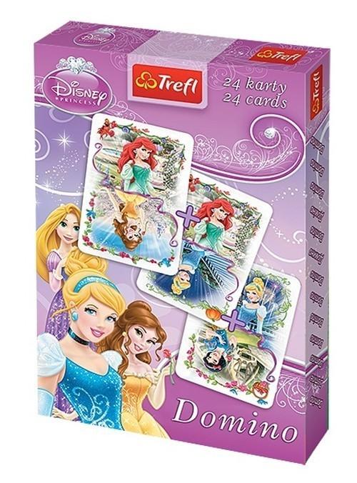 Karty Domino Księżniczki  1x24 listki (08603)