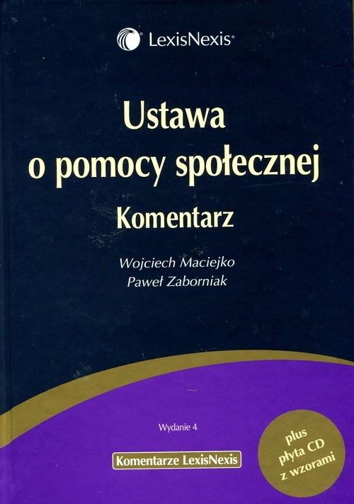 Ustawa o pomocy społecznej Komentarz Maciejko Wojciech, Zaborniak Paweł
