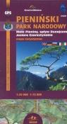 Pieniński Park Narodowy Małe Pieniny Jezioro Czorsztyńskie Mapa turystyczna