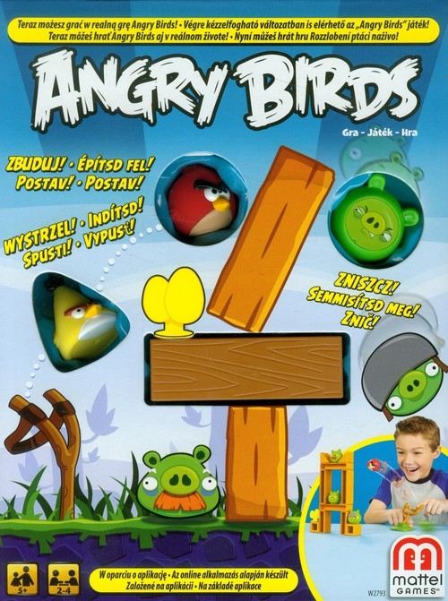 Angry Birds Głodne ptaki Gra