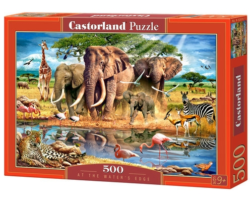 Puzzle At the Water's Edge 500  (52035)